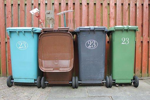 conteneur poubelles