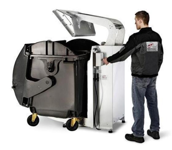 Compacteur d'ordures ménagères