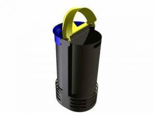 Bac plastique pour poubelles CITWIN