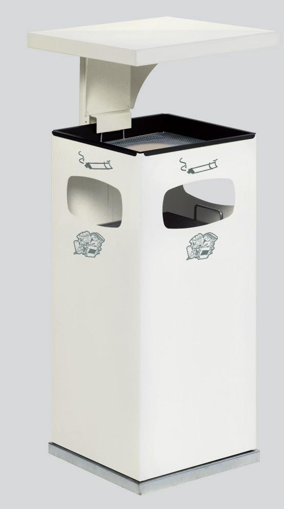 Cendrier poubelle B32