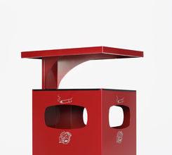 Cendrier poubelle B42