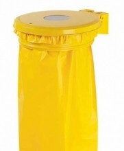 Collecmur avec trappe 110 litres jaune