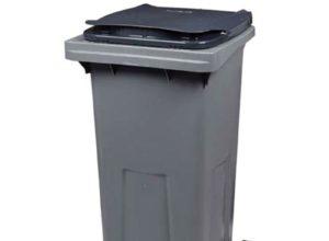 Conteneur déchets 240 litres gris