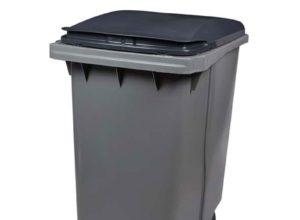 Conteneur déchets 340 litres gris