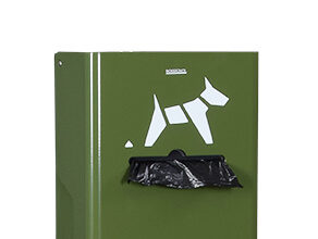 Distributeur sac rouleau crotte de chien