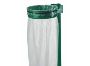 Support sac poubelle sur poteau