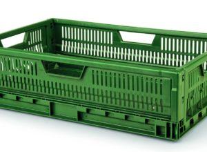 Cagette plastique pliable